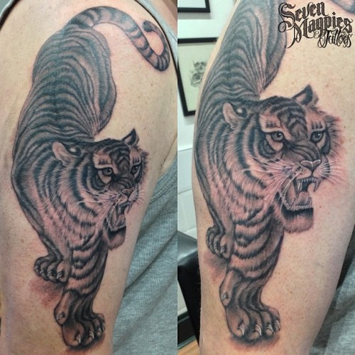 Added_this_tiger_to_the_zombie_samurai_sleeve_from_last_month__sevenmagpiestattoos