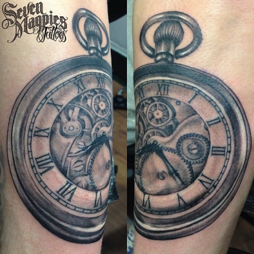 Pocket_watch_from_yesterday_on_the_back_of_a_forearm__impossible_to_get_a_decent_photo__it_s_round_I_promise___sevenmagpiestattoos